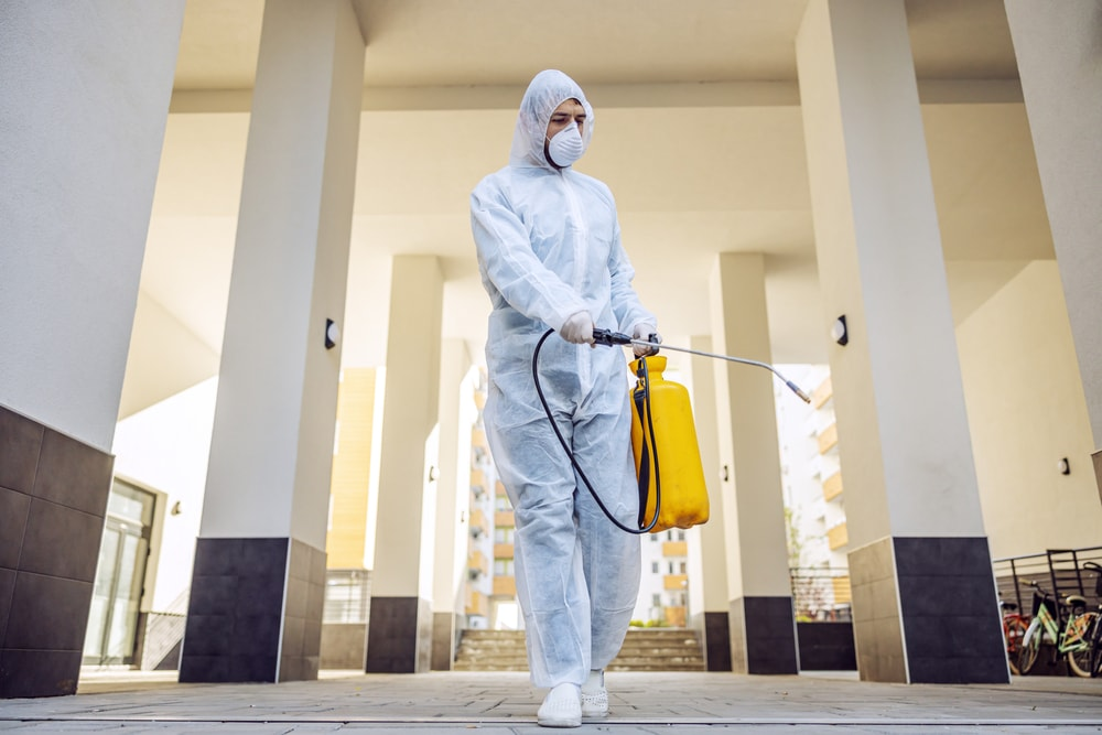 Offoce Building Decontamination Services