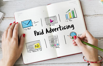 Industrial Paid Advertising - display ads vs search ads vs social ads