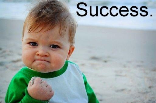 success baby meme