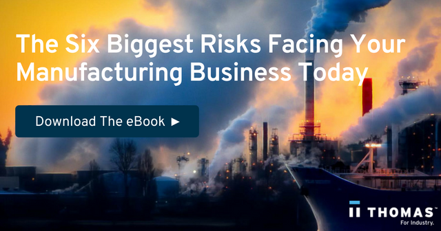 The Six Biggest Risks Facing Your Manufacturing Business Today