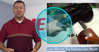 Video: A Laser Machine Gun For Your Cleaning Needs