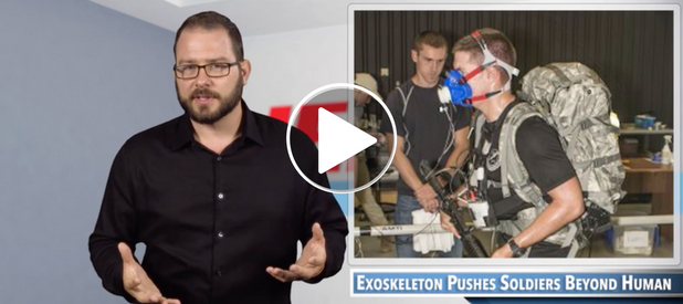 Video: Soldiers Will Get A Boost With Exoskeletons