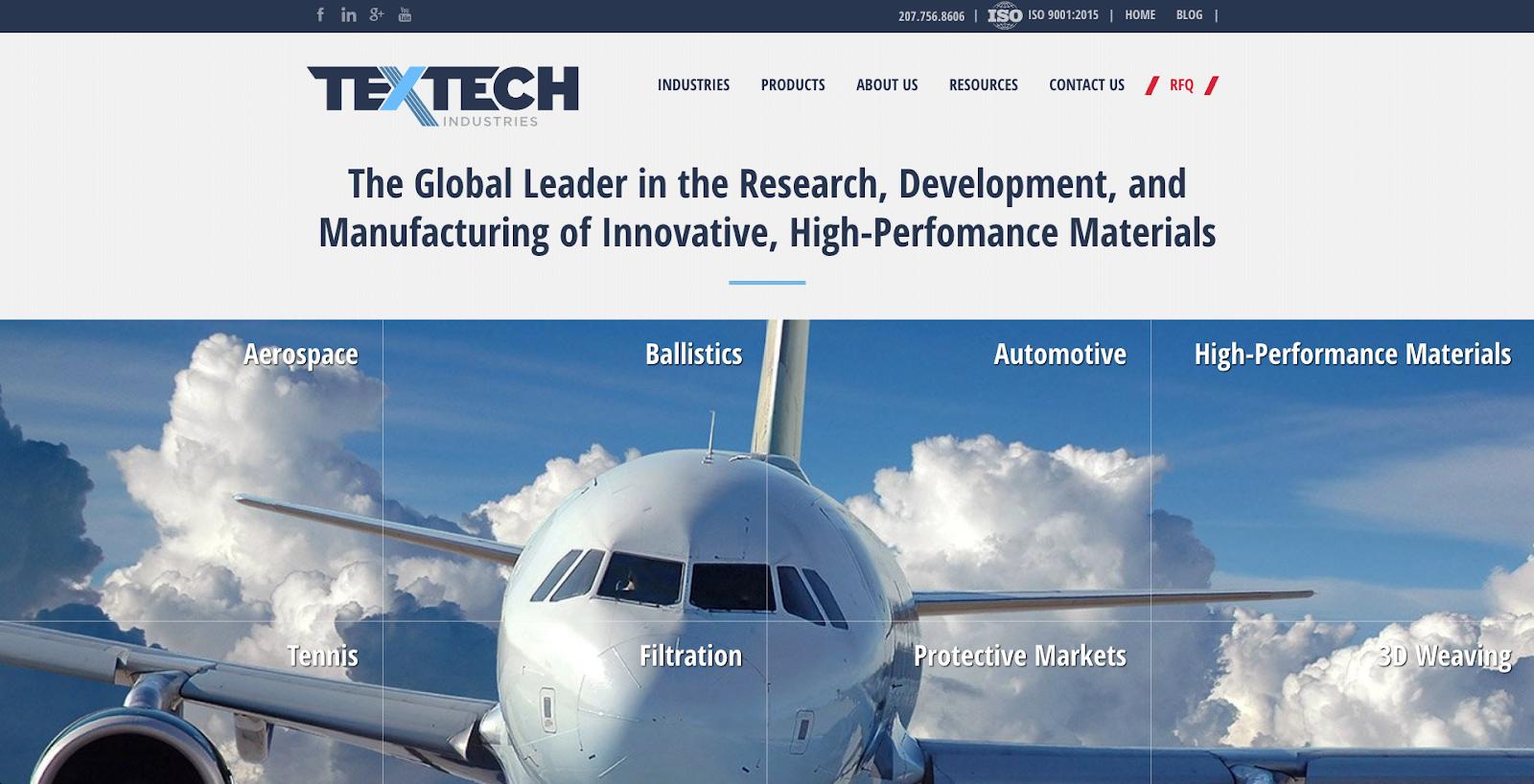 10 Best Industrial Website Design Examples