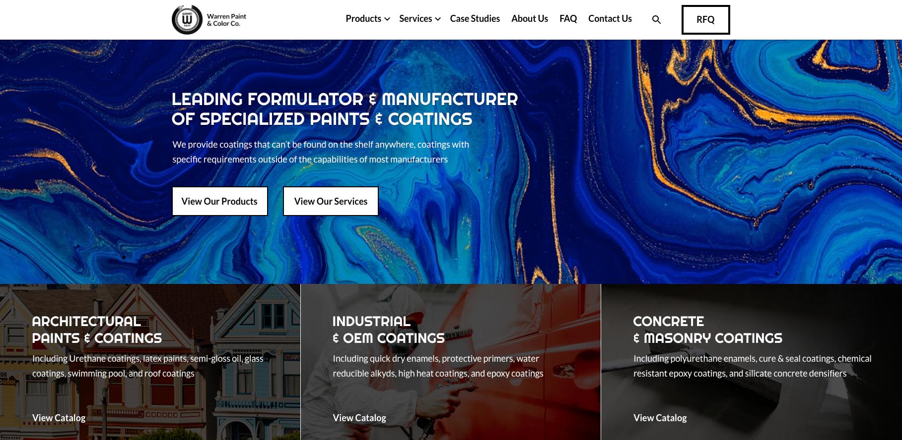 Website Design Examples For Custom Manufacturers