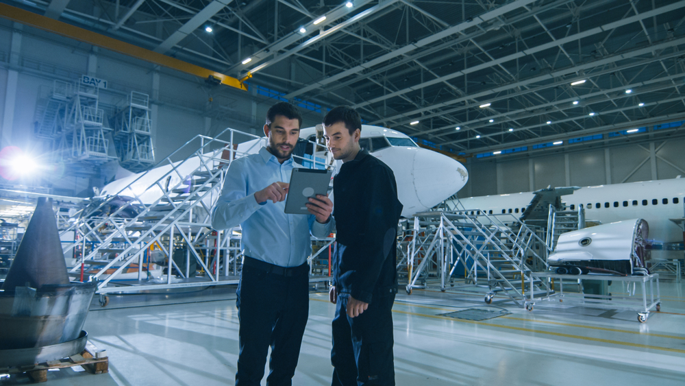 airplane maintenance - aerospace industry
